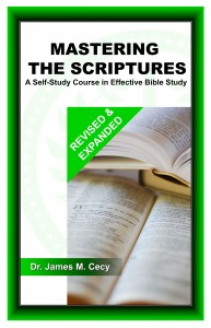 Mastering the Scriptures Front Cover